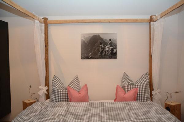 Ferienhaus in Oberstdorf, Ferienhaus Sehrwind – Betten, Schlafzimmer