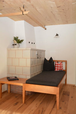 Ferienhaus in Oberstdorf, Ferienhaus Sehrwind – Kachelofen im Wohnraum, Erdgeschoß