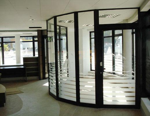 Décor vitrine dans tous les Appart'City de france - pour 44 enseignes - Nantes