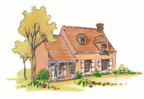 Perspective maison