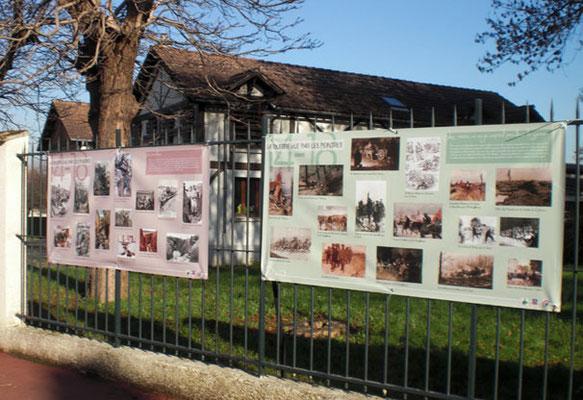 Exposition urbaine organisée dans le cadre du Bicentenaire de la guerre de 14-18 - APEPAW - Wissous