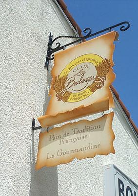 Réalisation des enseignes drapeaux Club le Boulanger - Pour 44enseignes - Nantes
