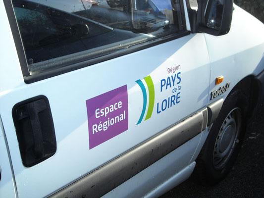 Décor véhicule - Région Pays de Loire - pour 44 enseignes - Nantes