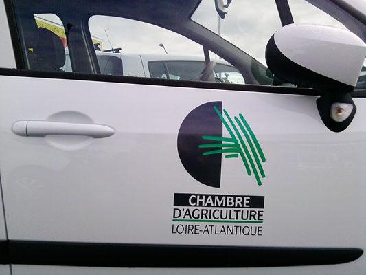 Décor véhicule - Chambre d'Agriculture - pour 44 enseignes - Nantes
