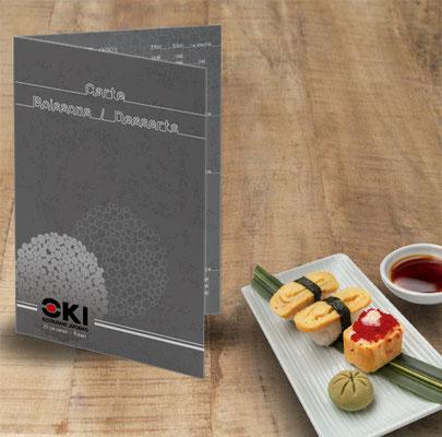 Carte desserts - Restaurant japonais OKi - Poitiers