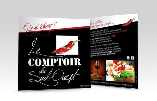 Flyer - Le COMPTOIR du SUD-OUEST - Poitiers