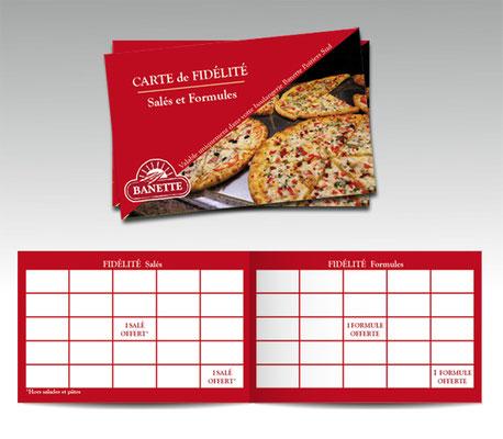 Carte de fidélité - Boulangerie BANETTE