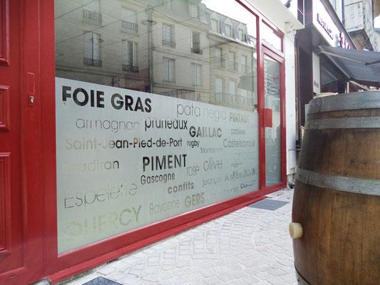 Décor vitrine - Le COMPTOIR du SUD-OUEST - Poitiers