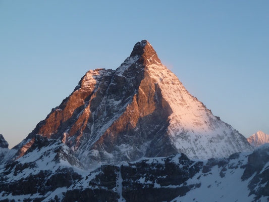 Abendsonne am Matterhorn (4'477m)