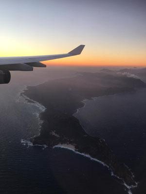 Die Kaphalbinsel von oben