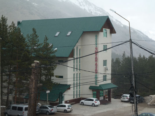 Unser Hotel in Azau