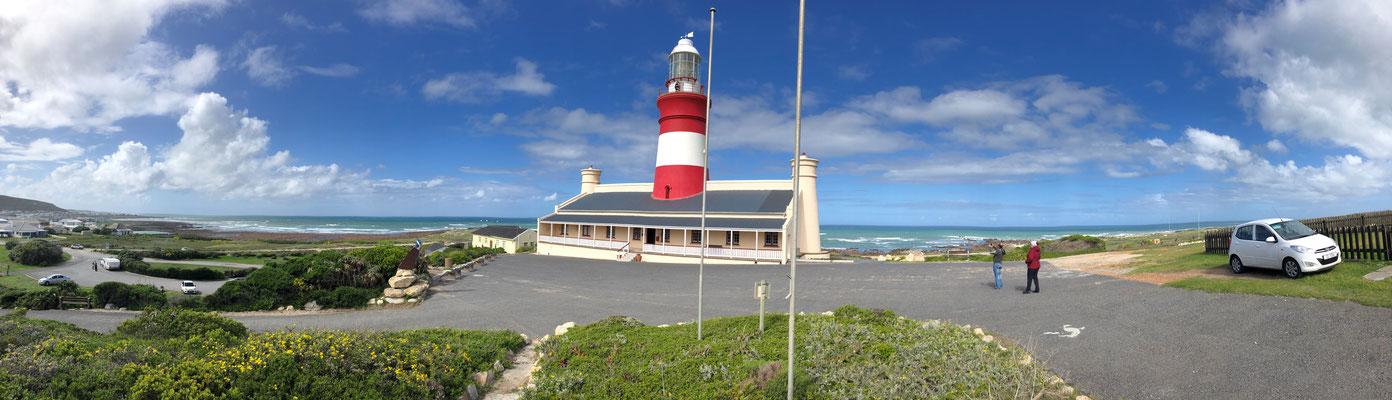 Der Leuchtturm am Cape Agulhas