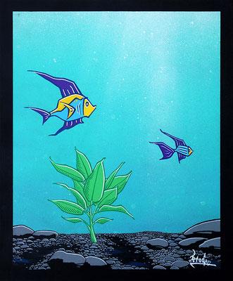 Aquarium. 38×46. 2008