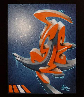 3E3D. 46×55. 2011