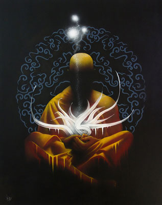 Méditation. 81×100. 2016
