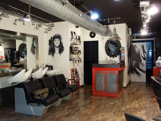 Salon de coiffure. 2016