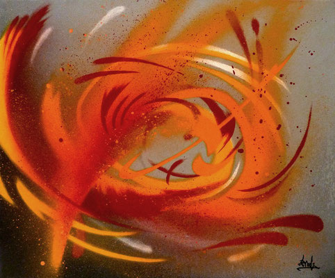 Abstrait 1.1. 55×46. 2009