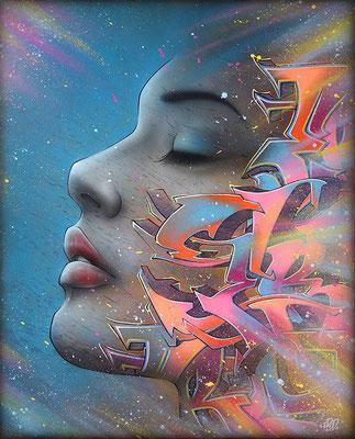 Graffiti spirit. 81x100. 2021