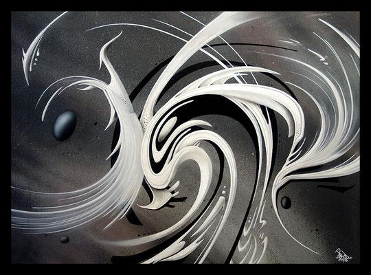 Fission. 80×60. 2013