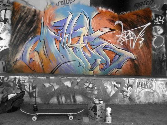 Skate-park – Metz. 2014