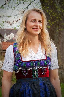 Fränkische Tracht Damentracht Rosalie Postatny