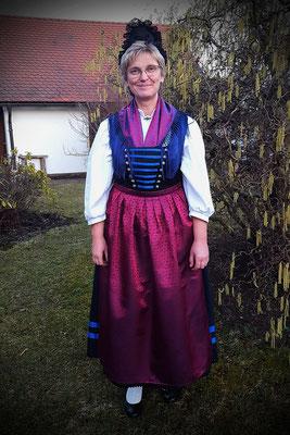 Altbayreuth Fränkische Tracht Damentracht Rosalie Postatny