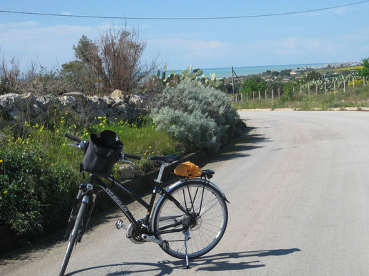 Bick zurück, unterwegs nach Scicli