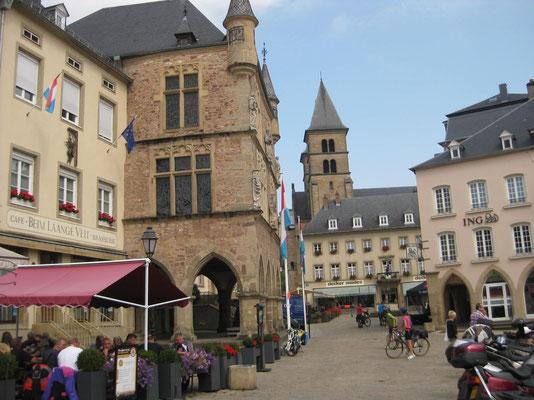 Per Schussfahrt nach Echternach