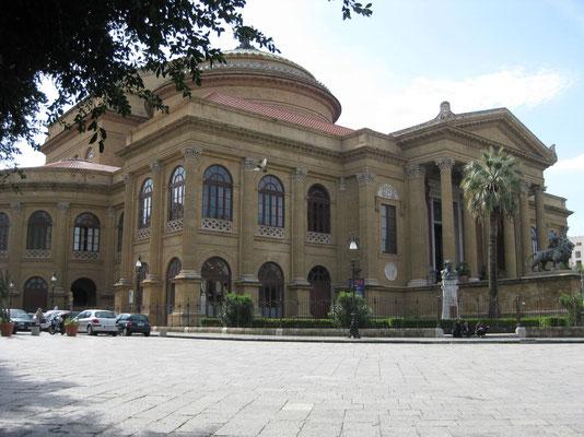 Das Teatro Massimo