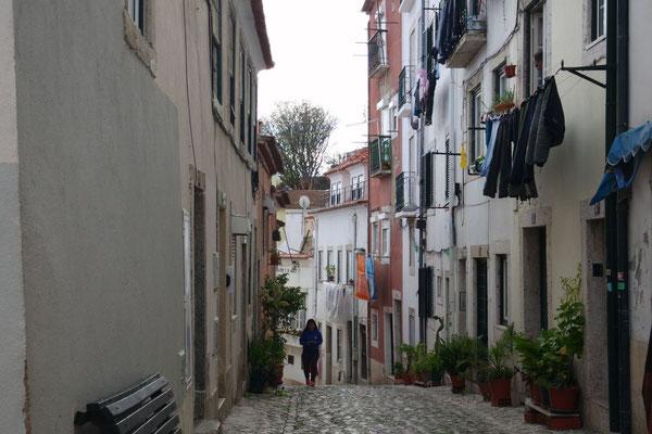 Lissabon und seine Gassen