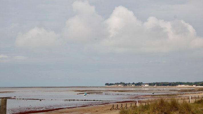 Auf der Île de Noirmoutier bei Ebbe