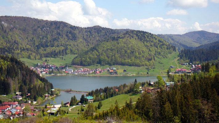 Unterwegs in den bergigen Vorboten der Hohen Tatra in der Slowakei