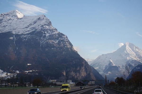 Richtung Gotthard