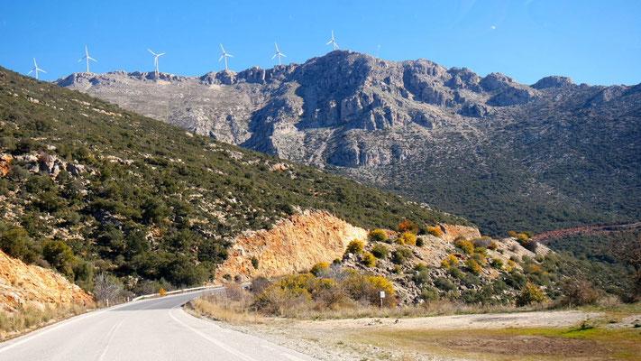 Von Tripoli nach Nafplio durch die besondere Berglandschaft Griechenlands