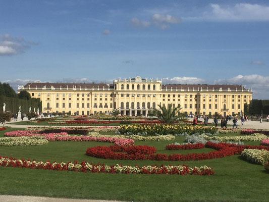 Schloss Schönbrunn - könnte auch Versailles sein