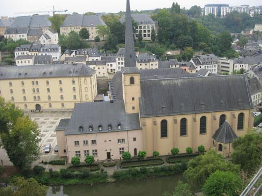 Die Altstadt Luxemburgs