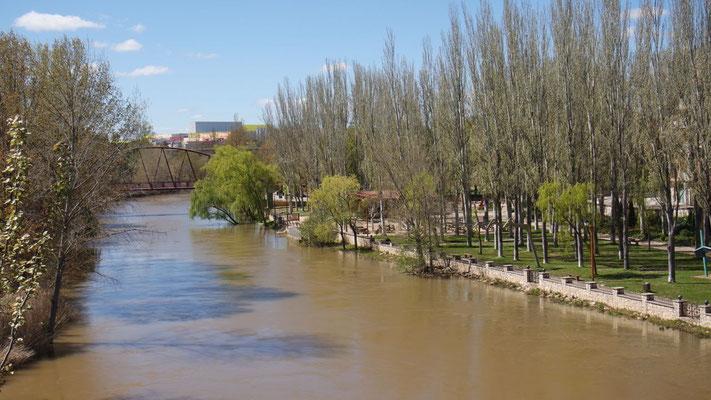 Aranda liegt am Douero