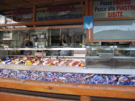 Frische Fische gefällig vor dem Frühstück?