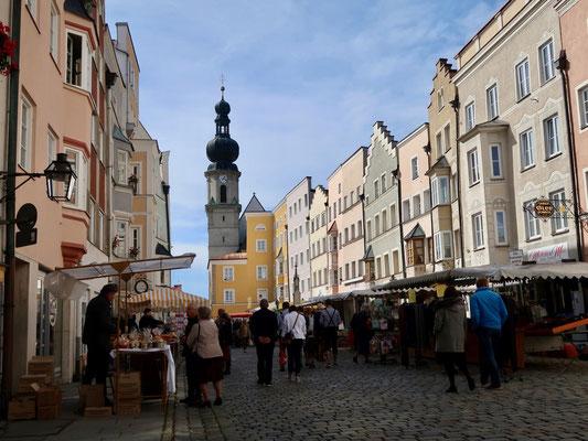 Herbstmarkt in Trostberg an der Alz
