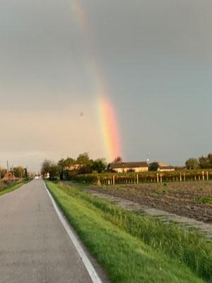 Ein Regenbogen......
