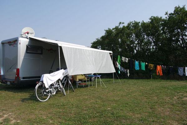 """Rita's Waschtag auf dem Camping """"Am Tor zum Hainich"""""""
