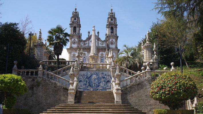 Die bekannte Kathedrale von Lamego
