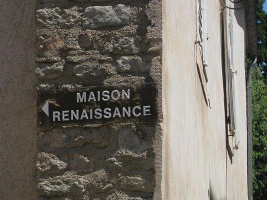 Das Maison Renaissance ....