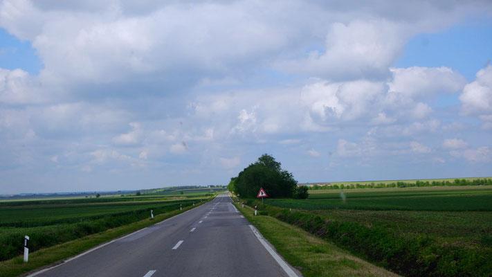 Unterwegs Richtung Grenze Serbien/Rumänien