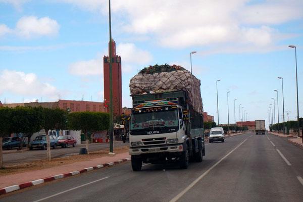 Bei den marokkanischen Ladungen stockt uns manchmal der Atem