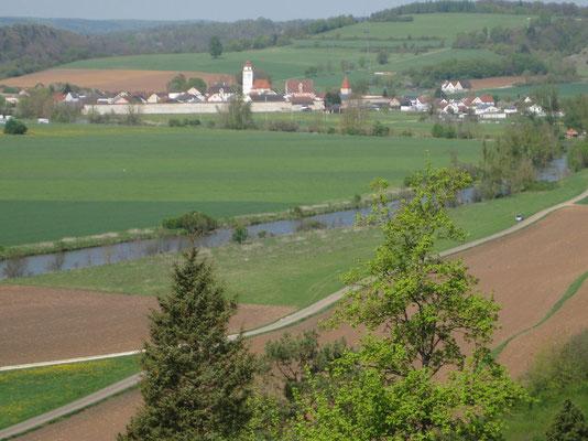 Blick zurück nach Dollnstein