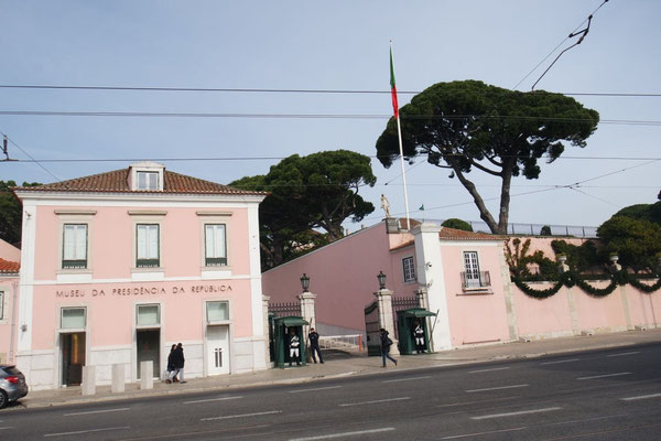 Der Bélem-Palast beherbergt das Museum der Präsidentschaft