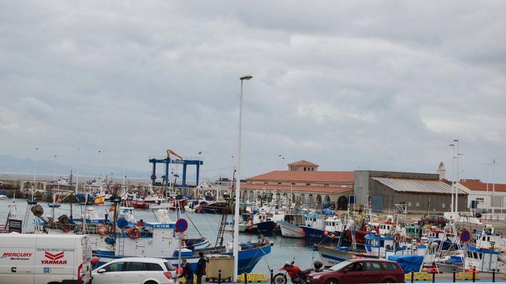 Tarifa's Fischerhafen