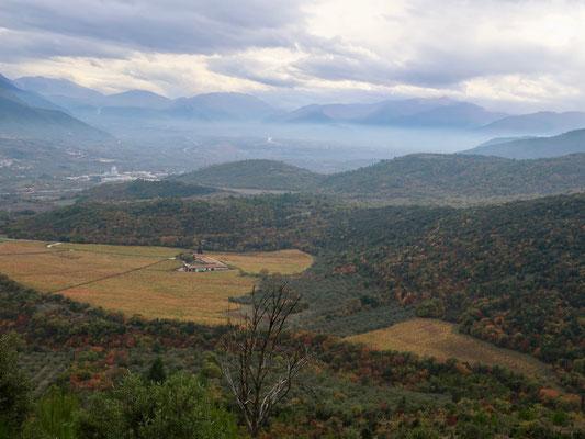 Weiten im tiefen Süden Italiens