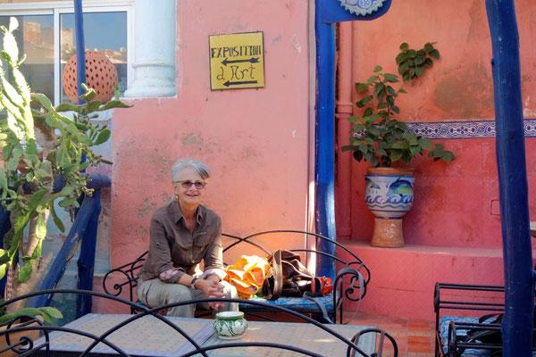 Kaffeepause im idyllischen Gärtli